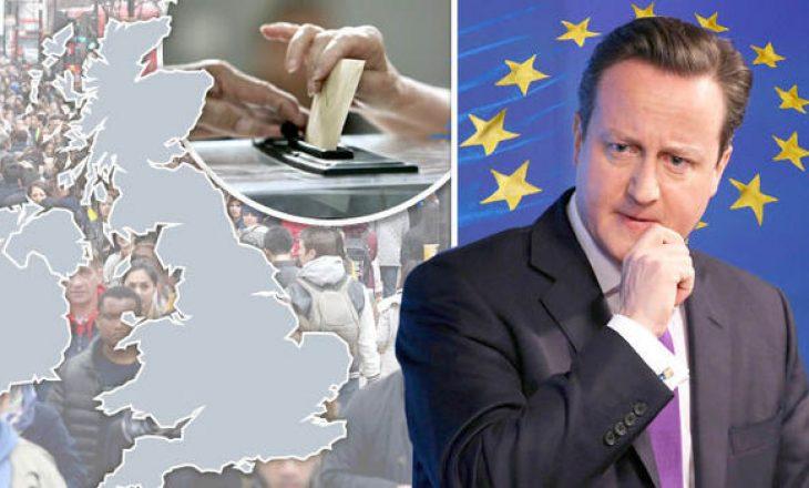 Njëqind mijë britanik kërkojnë largimin e Britanisë nga BE-ja