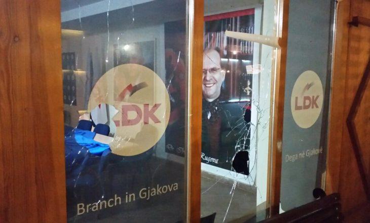 Sulme në katër zyra të LDK-së