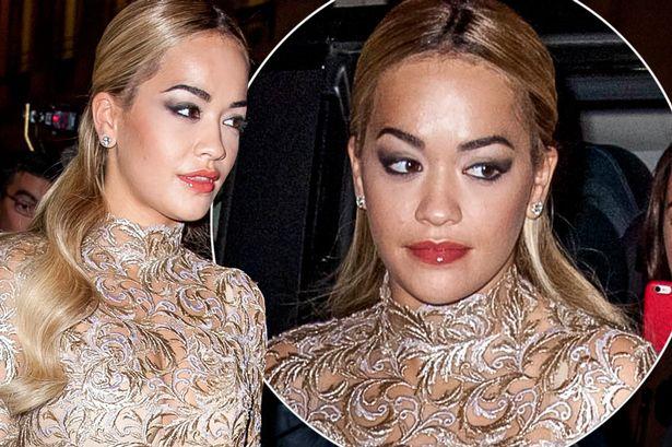 Rita Ora para bankrotit financiar