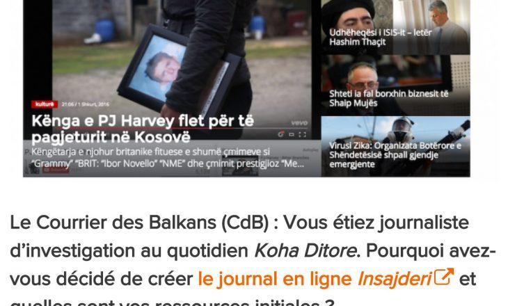 Portali francez: Insajderi.com, rilindja e gazetarisë hulumtuese