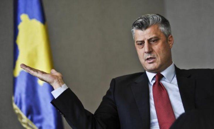 Thaçi: Pavarësia e Kosovës, domosdoshmëri historike