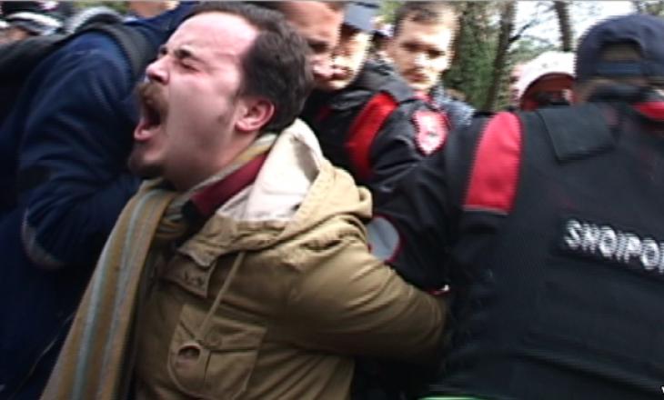 Tiranë: Dhunë dhe arrestime në protestën pro mjedisit