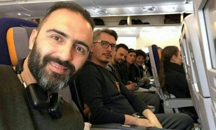 Ekipi i filmit Shok, niset për Los Angeles