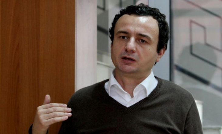 Albin Kurti: Vizita e Kerryt nuk është mbështetje për Thaçin