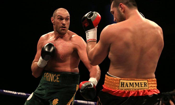 Tyson Fury mund ta lë boksin