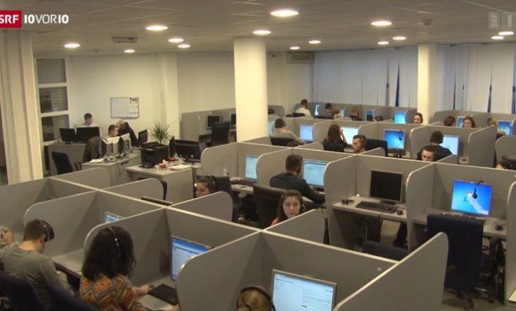 """Televizioni zviceran portretizon ekonominë kosovare me """"call center"""""""