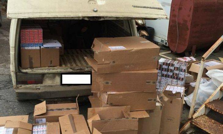 Dogana konfiskon 450 mijë copë cigare dhe 200 kilogramë duhan