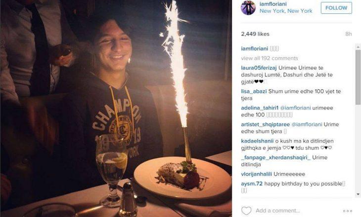 Floriani feston ditëlindjen