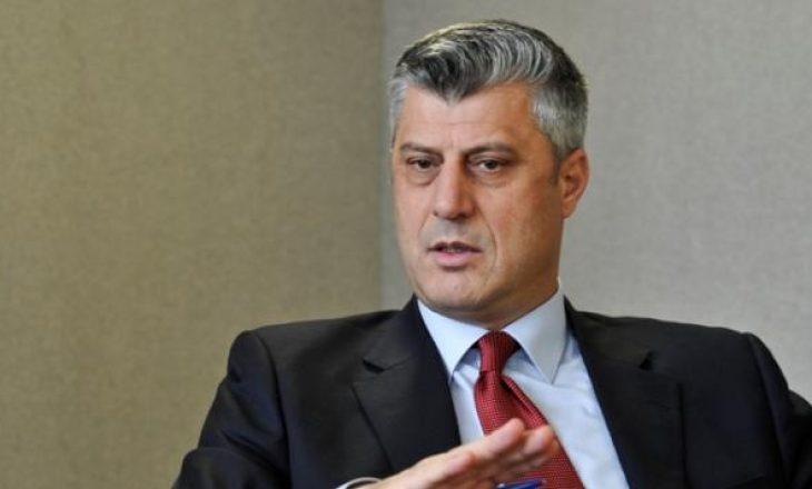 Thaçi: Asociacioni dhe demarkacioni nuk ishin shqetësim për Haradinajn