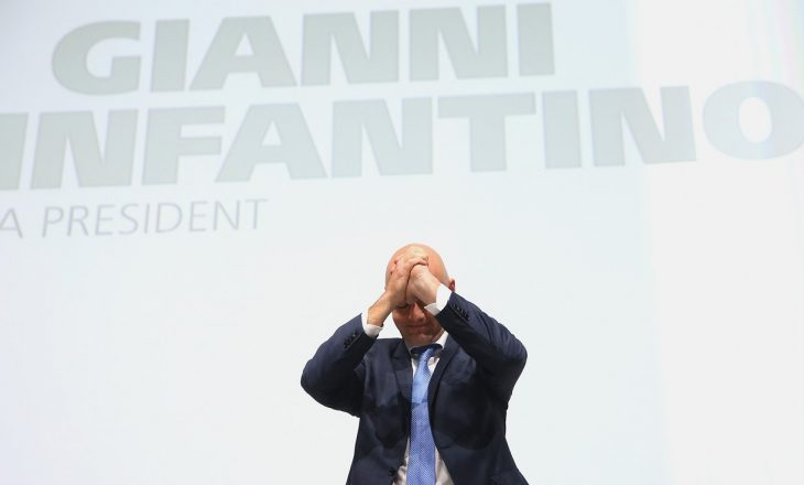 """Presidenti i ri i FIFA-s dëshiron të rindezë """"dashurinë për futbollin"""""""