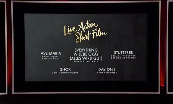 """Çmimi në kategorinë ku garon filmi """"Shok"""" ndahet pas orës 03:30"""