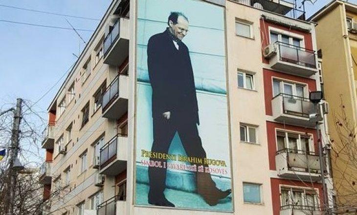 Pozita dhe opozita grinden edhe për posterin e Rugovës