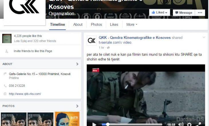 """Sulmohen faqet e QKK-së dhe Skena UP: Shpërndahet pirateri filmi """"Shok"""""""