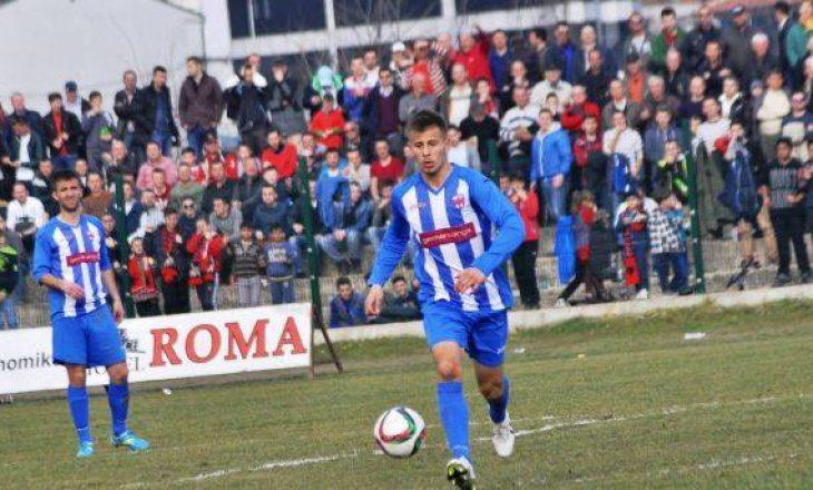 Ramadani fut në sherr klubet Drita dhe Partizani