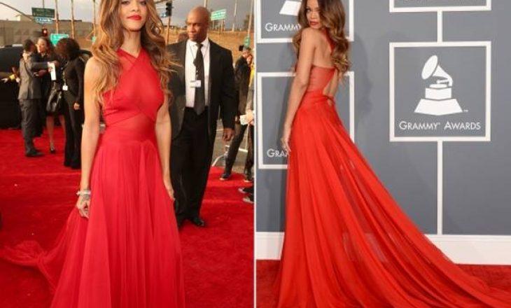 Rihanna përformon në Grammy Awards 2016, nuk është e nominuar
