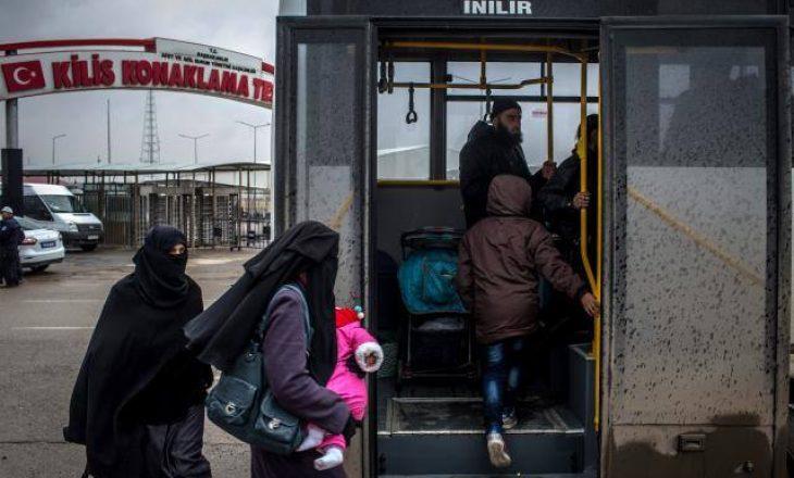 Fati i mbi 10 mijë refugjatëve sirianë në duart e Turqisë