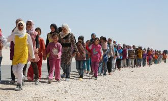 Refugjatët sirian refuzojnë Kosovën