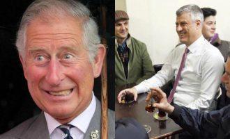 Thaçi dhe Princi Charles do të pinë çaj në Burojë