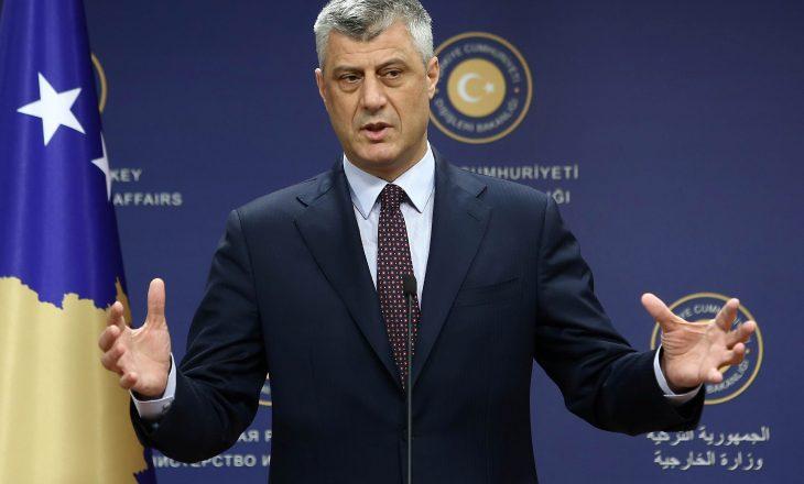"""Thaçi: Kosova nuk është myslimane, kosovarët duhet të jenë """"më katolikë se Papa"""""""