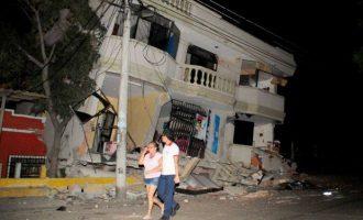Tërmeti në Ekuador lë 77 persona të vdekur