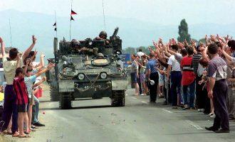 KFOR-i anglez akuzohet se nuk mbrojti serbët e vrarë në Kosovë