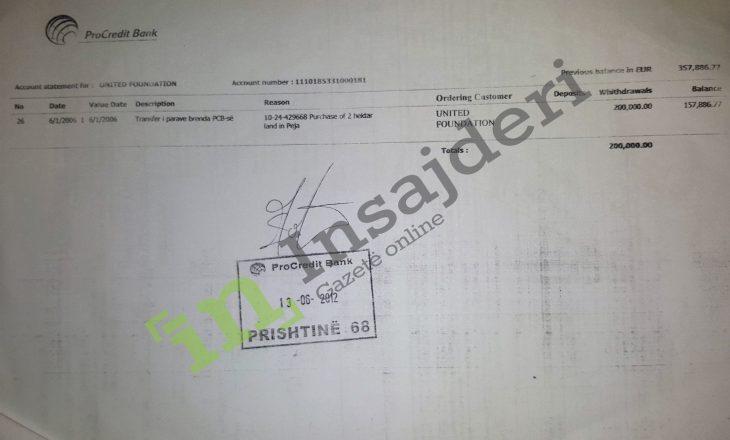 """Prokuroria heton për pastrim parash OJQ-në që pagoi 200 mijë euro për tokën e """"F""""-së"""