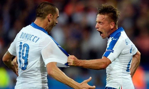 Italia i jep mësim Belgjikës