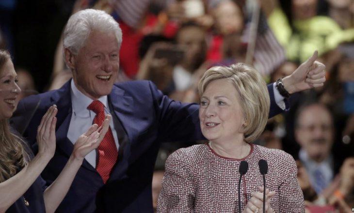 Clintonët fituan 10 milionë dollarë në 2015, paguan 43 për qind në taksa