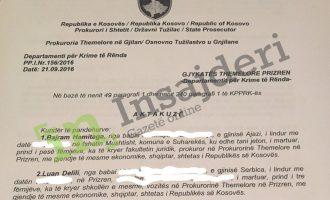 Aktakuzë: Prokurori u korruptua me një kosë, një çadër dhe kërkoi 5 mijë euro