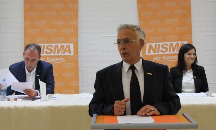 NISMA rikonfirmon Limajn e Krasniqin në krye të partisë