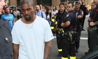 Kanye West evakuohet nga zjarrëfikësit
