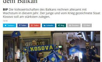 """Handelszeitung: Kosova, """"yll"""" i rritjes ekonomike në mesin e shteteve të Ballkanit"""
