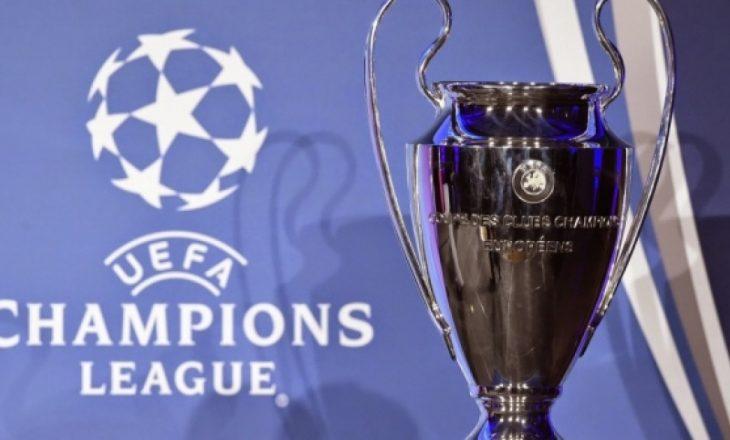 Rezultat e ndeshjeve në Ligën e Kampionëve