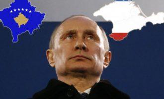 Putini i zemëruar që perëndimi njeh vullnetin e popullit në Kosovë por jo në Krime