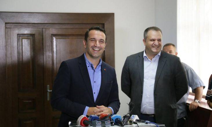 Bashkimi kombëtar ndanë kryetarët e Tiranës dhe Prishtinës