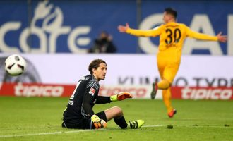 Tarashaj shënon golin e parë në Bundesligë, feston me shqiponjë