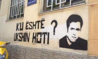 Fshirja misterioze e grafitit për Ukshin Hotin: VV-ja dhe MKRS-ja akuzojnë njëra-tjetrën