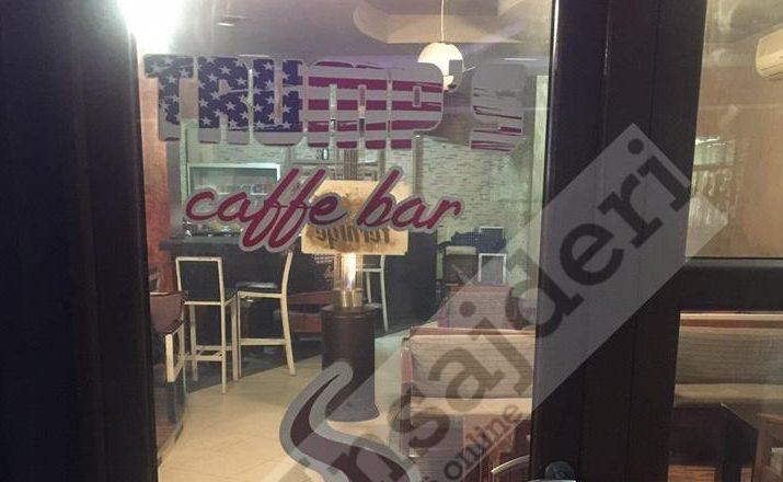 """Kafiteria në Viti ndërron emrin në """"Trump's caffe"""""""