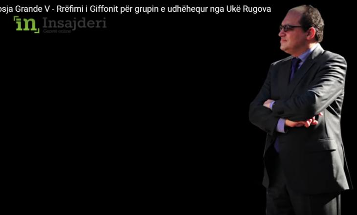 Dosja Grande V- Ish-ambasadori Giffoni: M'u dha besa e shqiptarit, por u tradhtova