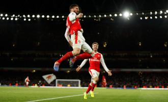 Giroud shpëton Arsenalin [video]