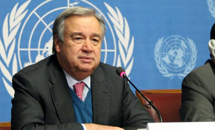 Shefi i Kombeve të Bashkuara kërkon armëpushim të menjëhershëm në konfliktin Izrael-Palestinë