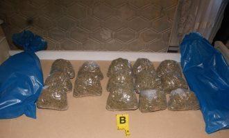 Policia konfiskon nga një person 8 kilogram marihuanë në Pejë
