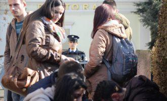 SKV: Policia arrestoi nëntë studentë në protestën pranë rektoratit