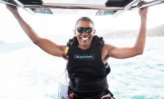 Obama shijon pushimet me sporte ekstreme