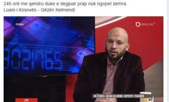 """Kryetari i """"Fjalës"""" në Podujevë i jep epitetin """"luan"""" Gëzim Kelmendit"""