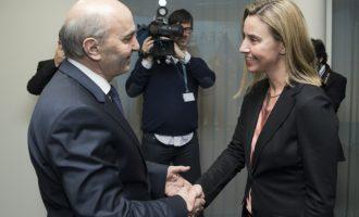 Mogherini demanton kryeministrin për murin