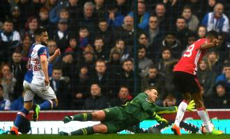 """United """"përmbys"""" Blackburn dhe kalon në çerekfinale të FA Cup"""