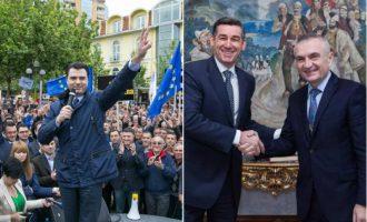 Vizitë në kohë tensionesh – Veseli në Tiranë