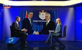 Vuçiq flet sikur Thaçi: Nëse zgjidhem president do të ketë stabilitet