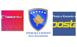 Zyra e kryeministrit harron që Posta dhe Telekomi janë dy ndërmarrje – shpall konkurs për PTK-në